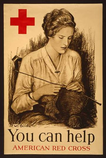 Free Vintage Knitting Patterns From American Red Cross Museum 1940s