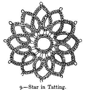 Easter Egg Snowflake - Tatting Patterns by Tattycat